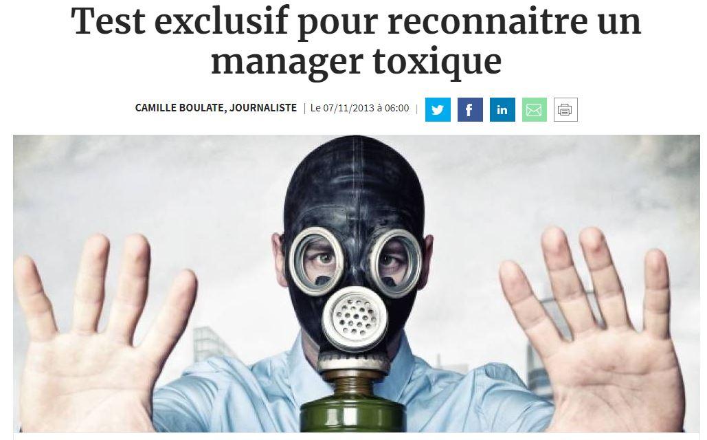 Test exclusif pour reconnaitre un manager toxique