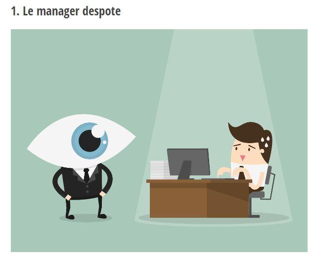 Les 5 types de managers toxiques