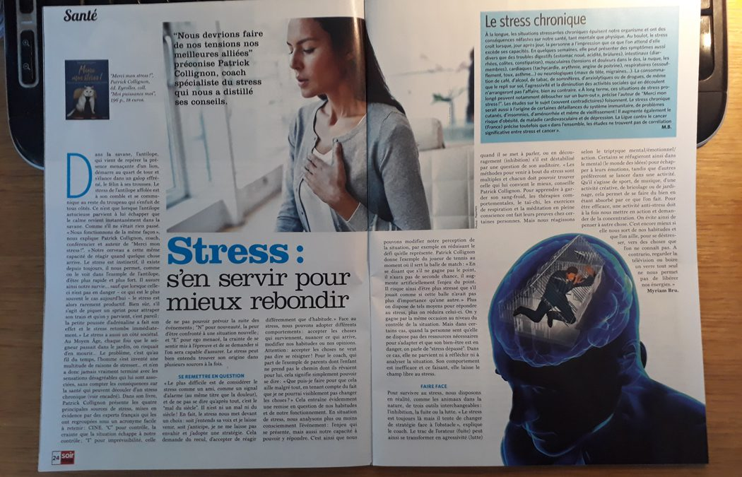 Stress : s'en servir pour mieux rebondir